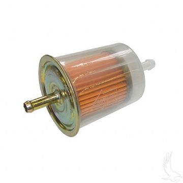 Fuel Filter, In-line EZGO Marathon 2-cycle Gas 76-94, Club Car Gas 84-91